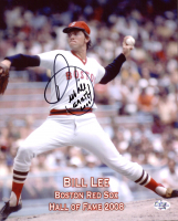 """Bill Lee Signed Red Sox 8x10 Photo Inscribed """"Earth 2006"""" (Your Sports Memorabilia Store COA) at PristineAuction.com"""