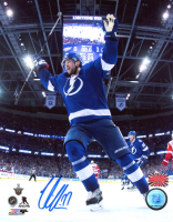 Victor Hedman Signed Lightning 8x10 Photo (YSMS COA) at PristineAuction.com