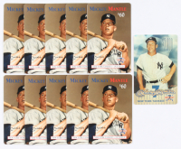 Lot of (11) Mickey Mantle Yankees Call Cards at PristineAuction.com