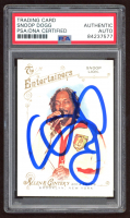 Snoop Dogg Signed 2014 Topps Allen and Ginter Snoop Lion #23 (PSA Encapsulated) at PristineAuction.com
