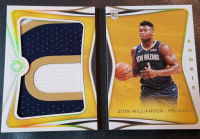 Zion Williamson 2019-20 Panini Opulence Rookie Patches Booklet #1 at PristineAuction.com