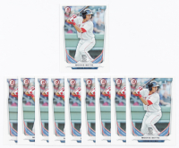 Lot of (10) Mookie Betts 2014 Bowman Chrome #138 RC at PristineAuction.com