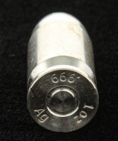 1 Oz. 999 Fine Silver .45 Silver Bullet at PristineAuction.com