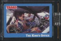 Richard Petty Signed 1991 Traks Richard Petty #39 (Sportscards Encapsulated) at PristineAuction.com