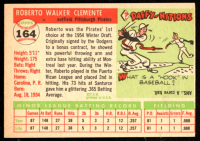 Roberto Clemente 1955 Topps #164 RC at PristineAuction.com