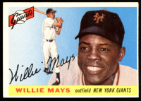 Willie Mays 1955 Topps #194 at PristineAuction.com