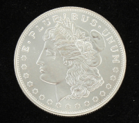 E Pluribus Unum .999 One Troy Ounce Fine Silver Bullion Round at PristineAuction.com
