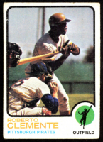 Roberto Clemente 1973 Topps #50 at PristineAuction.com