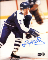 Lanny McDonald Signed Maple Leafs 8x10 Photo (COJO COA & Frozen Pond Hologram) at PristineAuction.com