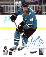 Joe Thornton Signed Sharks 8x10 Photo (COJO COA & Frozen Pond Hologram) at PristineAuction.com