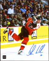John LeClair Signed Flyers 8x10 Photo (COJO COA) at PristineAuction.com
