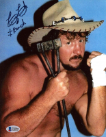 "Terry Funk Signed WWE 8x10 Photo Inscribed ""Ranch"" (Beckett COA) at PristineAuction.com"