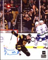David Pastrnak Signed Bruins 8x10 Photo (COJO COA & Pastrnak Hologram) at PristineAuction.com