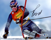 Bode Miller Signed 8x10 Photo (Beckett COA) at PristineAuction.com