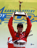 Sam Hornish Jr. Signed 8x10 Photo (Beckett COA) at PristineAuction.com