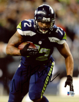 Michael Bennett Signed Seahawks 8x10 Photo (Beckett COA) at PristineAuction.com