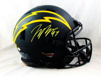 Joey Bosa Signed Chargers Full-Size Authentic On-Field Eclipse Alternate Speed Helmet (Beckett COA) at PristineAuction.com
