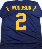 "Charles Woodson Signed Jersey Inscribed ""Heisman '97"" (JSA COA) at PristineAuction.com"