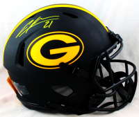 Charles Woodson Signed Packers Full-Size Authentic On-Field Eclipse Alternate Speed Helmet (JSA COA) at PristineAuction.com