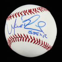 "Manny Ramirez Signed OML Baseball Inscribed ""555 HR"" (Schwartz COA) at PristineAuction.com"