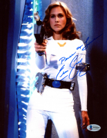 "Erin Gray Signed ""Buck Rodgers"" 8x10 Photo Inscribed ""Peace & Love"" (Beckett COA) at PristineAuction.com"