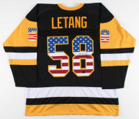 Kris Letang Signed Jersey (Letang Hologram) at PristineAuction.com