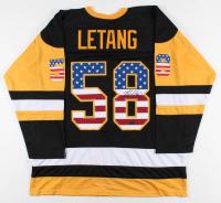 Kris Letang Signed Jersey (Letang Hologram) at PristineAuction.com
