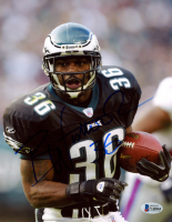 Brian Westbrook Signed Eagles 8x10 Photo (Beckett COA) at PristineAuction.com