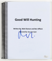 "Matt Damon Signed ""Good Will Hunting"" Movie Script (JSA COA) at PristineAuction.com"