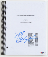 "Daniel Radcliffe Signed ""Harry Potter and the Sorcerer's Stone"" Full Movie Script (PSA COA) at PristineAuction.com"
