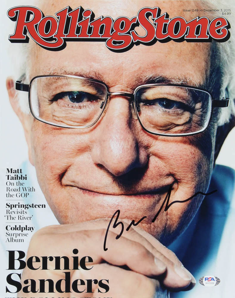 Bernie Sanders Signed 11x14 Photo (PSA Hologram) at PristineAuction.com