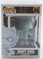 "Richard Brake Signed ""Game of Thrones"" Night King #84 Funko Pop! Vinyl Figure Inscribed ""The Night King"" (Radtke COA) at PristineAuction.com"
