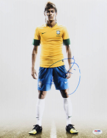 Neymar Signed Team Brazil 11x14 Photo (PSA LOA) at PristineAuction.com