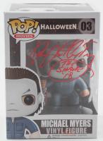 "James Jude Courtney Signed ""Halloween"" #03 Michael Myers Funko Pop! Vinyl Figure Inscribed ""The Shape '18"" (Radtke COA) at PristineAuction.com"