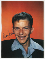 Frank Sinatra Signed 9x12 Photo (PSA LOA) at PristineAuction.com