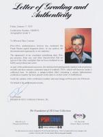 Frank Sinatra Signed 9x12 Photo (PSA LOA) at PristineAuction.com