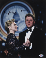 Hillary Rodham Clinton & Bill Clinton Signed 11x14 Photo (PSA LOA) at PristineAuction.com