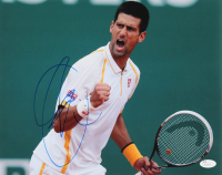 Novak Djokovic Signed 11x14 Photo (JSA COA) at PristineAuction.com