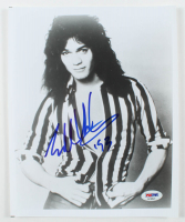 "Eddie Van Halen Signed Van Halen 8x10 Photo Inscribed ""'93"" (PSA Hologram) at PristineAuction.com"