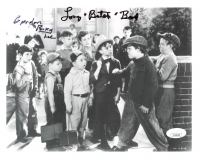 "Eugene Gordon Lee & Tommy Bond Signed ""Our Gang"" 8x10 Photo Inscribed ""Porky"" & ""Butch"" (JSA COA) at PristineAuction.com"