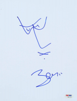 Bono Signed 8.5x11 Hand-Drawn Self Portrait (PSA Hologram) at PristineAuction.com