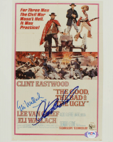 """Clint Eastwood & Eli Wallach Signed """"The Good, the Bad and the Ugly"""" 8x10 Photo (PSA Hologram) at PristineAuction.com"""