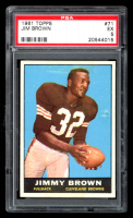 Jim Brown 1961 Topps #71 (PSA 5) at PristineAuction.com