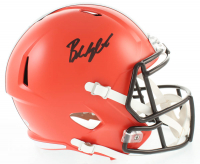 Baker Mayfield Signed Browns Full-Size Speed Helmet (Beckett COA) at PristineAuction.com