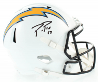 Philip Rivers Signed Chargers Full-Size Speed Helmet (Beckett COA) at PristineAuction.com