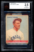 Charlie Grimm 1933 Goudey #51 RC (BVG 2.5) at PristineAuction.com