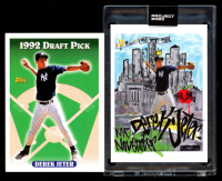 Lot of (2) Derek Jeter Topps Baseball Cards with 2020 Topps Project 2020 #29 & 1993 Topps #98 RC (Project 2020 Encapsulated) at PristineAuction.com