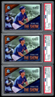 Lot of (3) PSA Graded 10 Peter Alonso 2019 Bowman Chrome Ready for the Show #RFTS11 at PristineAuction.com