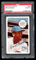 Ernie Banks 1970 Kellogg's #40 (PSA 9) at PristineAuction.com