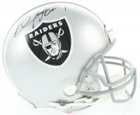 Bo Jackson Signed Raiders Full-Size Authentic On-Field Helmet (Beckett COA) at PristineAuction.com